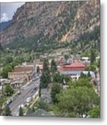 Town Of Ouray Metal Print