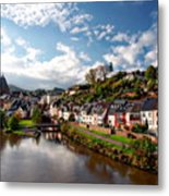 Town Of Saarburg Metal Print