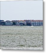 Town On The Water Metal Print