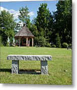 Town Park In Bartlett New Hampshire Usa Metal Print