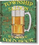 Township Saloon Metal Print