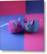 Toy Mice Metal Print