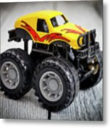 Toy Monster Truck Metal Print