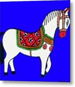 Toy Wooden Horse 1 Metal Print