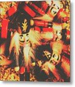 Toy Workshop Soldiers Metal Print