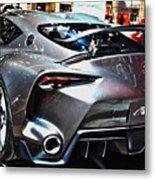 Toyota Ft-1 Concept Number 1 Metal Print