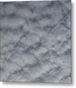 Trace Of Airplane Metal Print