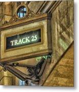 Track 25 Metal Print