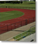 Track And Field Of Depth  Metal Print