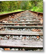 Tracking To The Right And Around The Bend Metal Print