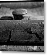 Tracks And Bolts Metal Print