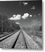 Tracks To Nowhere 1520 Metal Print