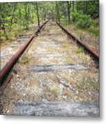 Tracks To Nowhere Metal Print