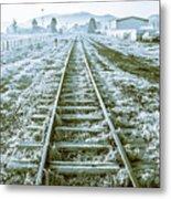 Tracks To Travel Tasmania Metal Print