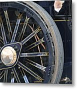 Traction Engine.  Metal Print