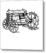 Tractor 1919 Henry Ford T-shirt Metal Print
