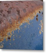 Tractor Decomposition Metal Print