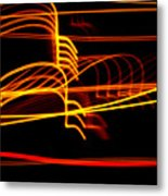 Tractor Trailer Tremors Metal Print
