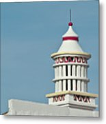 Traditional Algarve Chimney Metal Print
