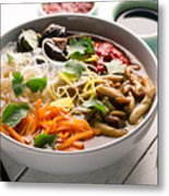 Traditional Chinese Soup  Metal Print