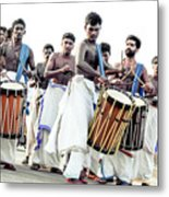 Traditional Drummers Metal Print
