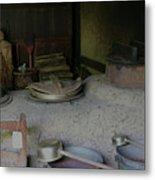 Traditional Japanese Kitchen Metal Print