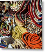 Traditional Moroccan Rugs Metal Print