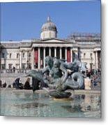 Trafalgar Square London Metal Print