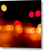 Traffic Lights Number 5 Metal Print