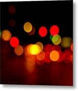 Traffic Lights Number 8 Metal Print