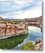 Trail Creek Canyon Metal Print