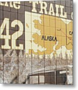 Trail Of 42 Metal Print