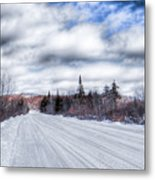 Trail One In Old Forge 2 Metal Print