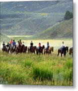 Trail Ride Metal Print