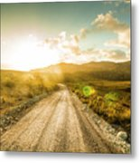 Trail To Trial Metal Print