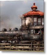 Train - Engine -the Great Western 90 Metal Print by Mike Savad