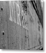 Train Car Elbe Washington Metal Print