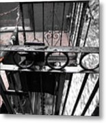 Train Car Rail 2 Metal Print