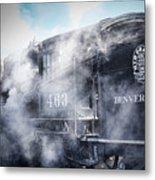 Train Engine 463 Metal Print
