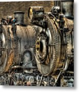 Train - Engine - Brothers Forever Metal Print