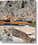 Train Engines Metal Print