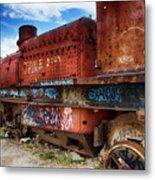 Train Graveyard Uyuni Bolivia 18 Metal Print