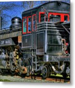 Train No. 3 Metal Print
