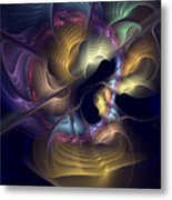 Train Of Thought Metal Print