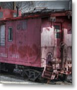 Train Series 2 Metal Print