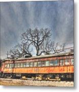 Train Series 3 Metal Print