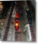 Train Set Metal Print