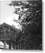 Train Station In Deerfield Beach Metal Print