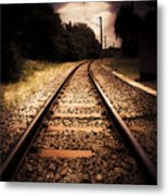 Train Tour Of Darkness Metal Print