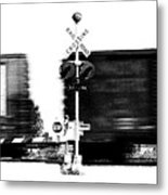 Train Tryptic B Of C Metal Print